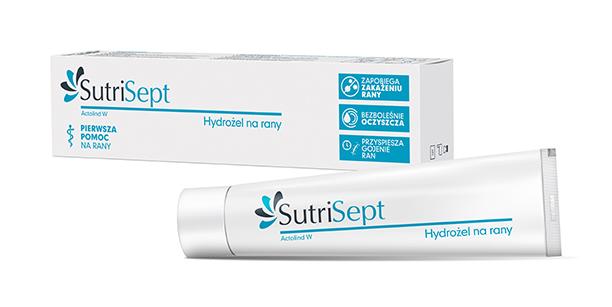 SUTRISEPT hydrożel do oczyszczania ran i oparzeń 30 ml