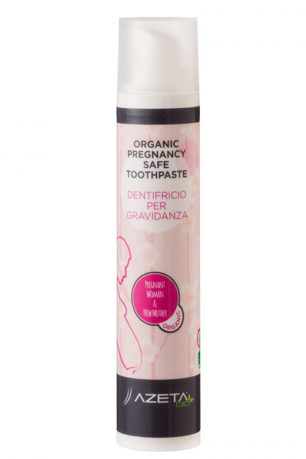 AZETAbio Organiczna pasta do zębów dla kobiet w ciąży