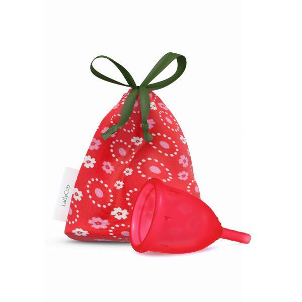 LadyCup wild cherry kubeczek menstruacyjny rozmiar S