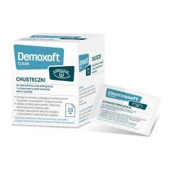 Demoxoft clean chusteczki do pielęgnacji skóry powiek
