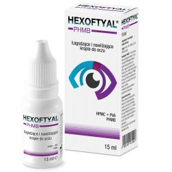 Hexoftyal PHMB krople do oczu, 15 ml