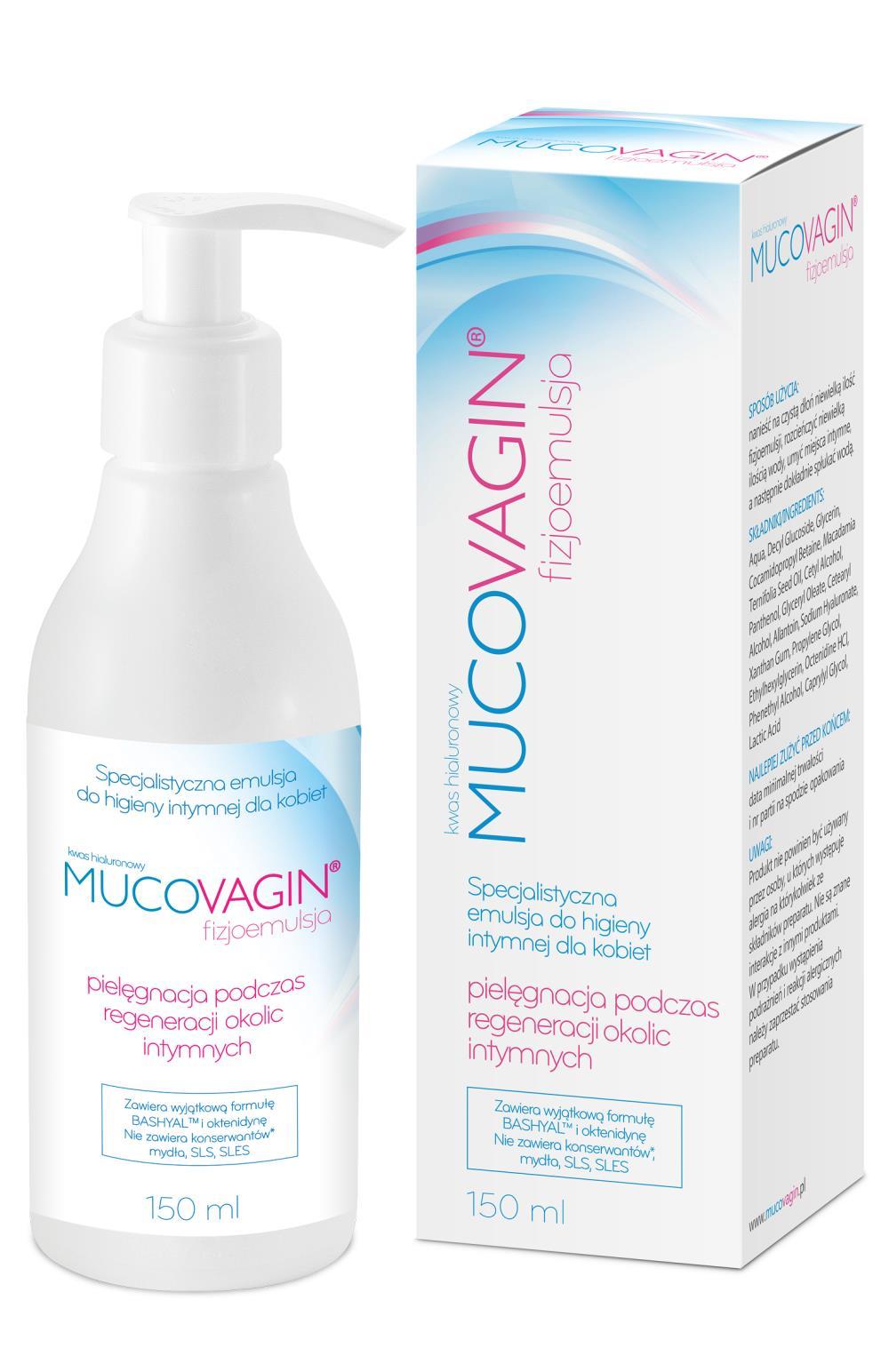 Mucovagin fizjoemulsja do higieny intymnej dla kobiet