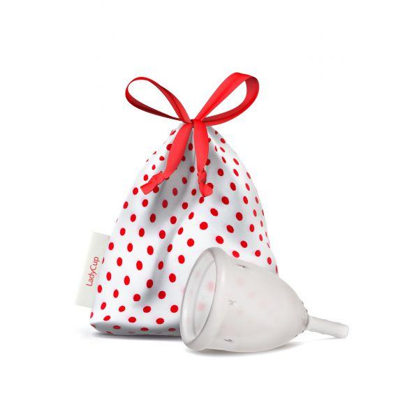 LadyCup - Clear - kubeczek menstruacyjny rozmiar L