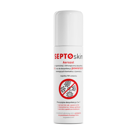 SEPTOskin aerozol do dezynfekcji rąk 100ml