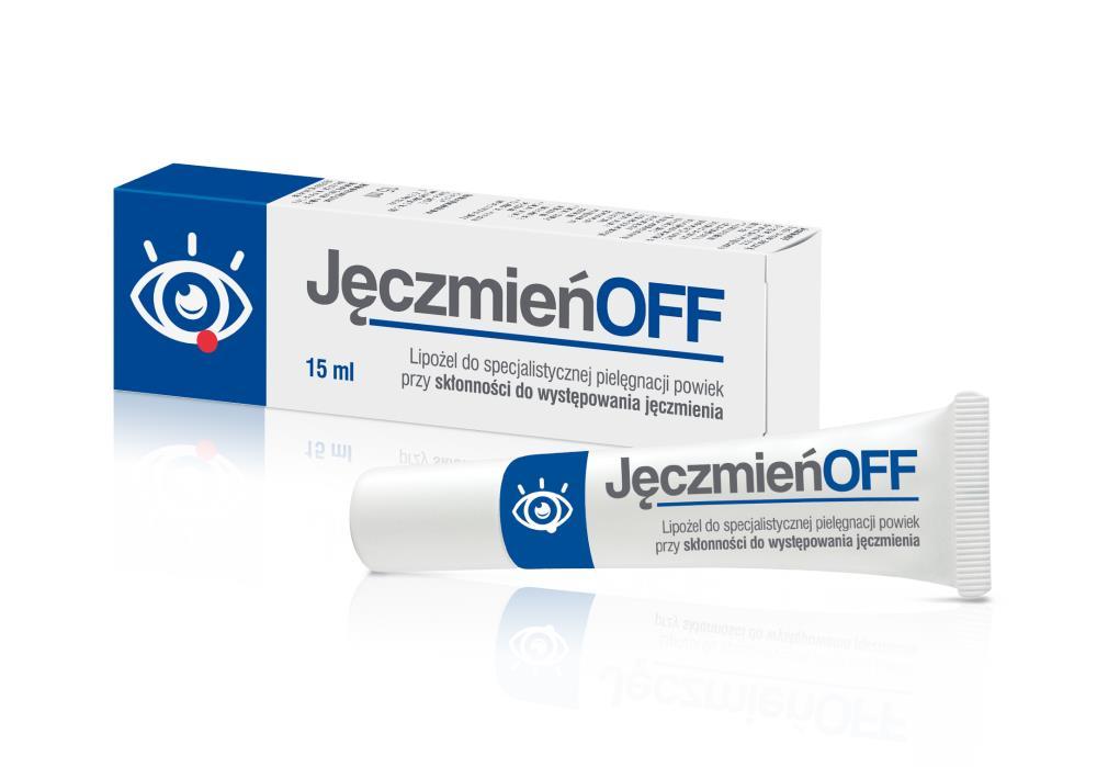 Jęczmień OFF Lipożel 15 ml